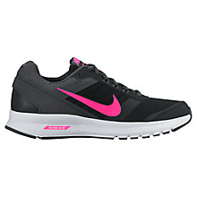 Buy Nike Air Relentless 5 Women's Running Shoes, Black/Pink Online at johnlewis.com