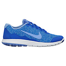 Buy Nike Flex Experience Run 4 Premium Women's Running Shoes, Blue Online at johnlewis.com