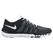 Buy Nike Free Trainer 5.0 Men's Cross Trainers, Black/White Online at johnlewis.com