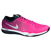 Buy Nike Free TR Fit 4 Print Women's Cross Trainers, Pink Online at johnlewis.com