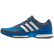Buy Adidas Response Boost 2 Men's Running Shoes, Blue Online at johnlewis.com