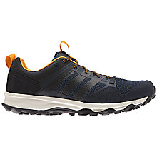 Buy Adidas Kanadia 7 Trail Men's Running Shoes, Navy Online at johnlewis.com