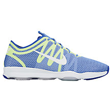 Buy Nike Air Zoom Fit 2 Women's Cross Trainers, Blue Online at johnlewis.com