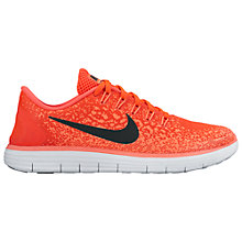 Buy Nike Free Distance Women's Running Shoes, Red Online at johnlewis.com