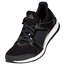 Buy Adidas Women's Pure Boost X Training Shoes, Black Online at johnlewis.com