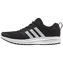 Buy Adidas Madoru 11 Men's Running Shoes, Black/White Online at johnlewis.com