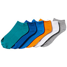 Buy Adidas Performance No-Show Training Socks, Pack of 6 Online at johnlewis.com
