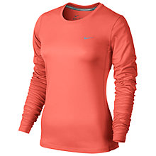 Buy Nike Dry Miler Women's Running Top Online at johnlewis.com
