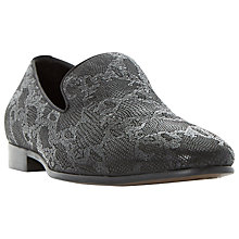 Buy Dune Rex Slip-On Loafers, Black Online at johnlewis.com