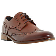 Buy Bertie Rodrigo Wingtip Brogues, Tan Online at johnlewis.com