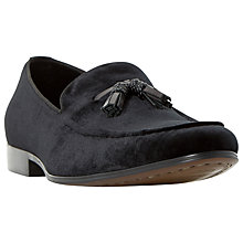 Buy Dune Roman Velvet Tassel Loafers Online at johnlewis.com