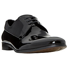 Buy Dune Raeburn Patent Oxford Shoes, Black Online at johnlewis.com