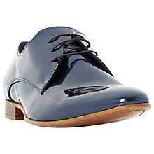 Buy Dune Rocket Man Metallic Derby Shoes Online at johnlewis.com
