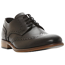 Buy Bertie Rodrigo Wingtip Brogues, Black Online at johnlewis.com