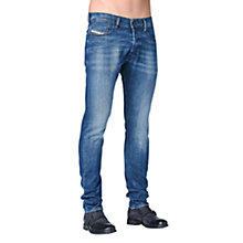 Buy Diesel Tepphar Stretch Jeans, Mid wash Online at johnlewis.com