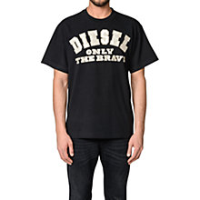 Buy Diesel T-Wallace-A T-Shirt Online at johnlewis.com