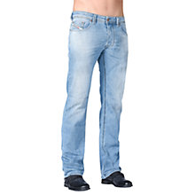 Buy Diesel Larkee Stretch Jeans, Light Wash Online at johnlewis.com
