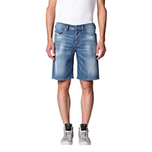 Buy Diesel Stretch Denim Shorts Online at johnlewis.com