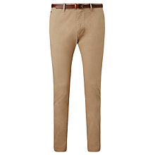 Buy Scotch & Soda Slim Fit Chinos, Sand Online at johnlewis.com