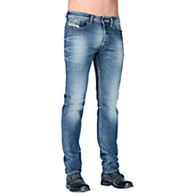 Buy Diesel Buster Stretch Jeans, Mid Wash Online at johnlewis.com