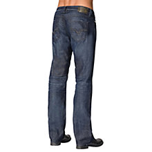Buy Diesel Larkee Stretch Jeans, Dark Wash Online at johnlewis.com