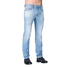 Buy Diesel Buster Stretch Jeans, Light Wash Online at johnlewis.com