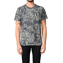 Buy Diesel T-Joe-AJ T-Shirt, Black Online at johnlewis.com