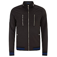 Buy Diesel Ricky Two Jacket, Black Online at johnlewis.com