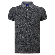 Buy Scotch & Soda Floral Polo Shirt Online at johnlewis.com