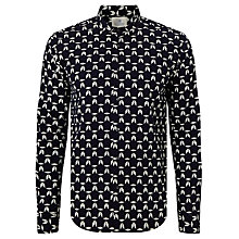 Buy Scotch & Soda Arrow Print Shirt, Navy/White Online at johnlewis.com
