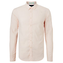 Buy Scotch & Soda Long Sleeve Oxford Shirt, Pink Online at johnlewis.com
