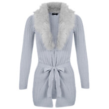 Buy Miss Selfridge Petits Faux Fur Cardigan Online at johnlewis.com