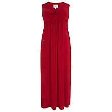 Buy Studio 8 Sandrine Twist Detail Maxi Dress, Red Online at johnlewis.com