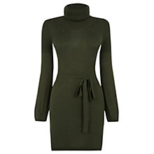 Buy Oasis 70s Cowl Neck Tunic Dress Online at johnlewis.com
