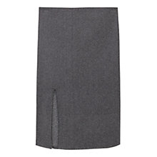 Buy Mango Metallic Textured Pencil Skirt, Silver Online at johnlewis.com