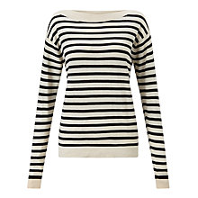 Buy Numph Alpha Breton Jumper, Birch Online at johnlewis.com