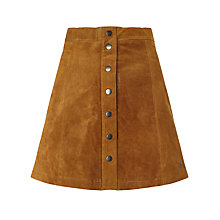Buy Numph Carla Suede Skirt, Trush Online at johnlewis.com