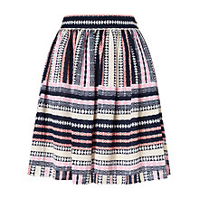 Buy BZR Angelika Print Skirt, Multi Online at johnlewis.com
