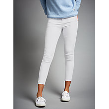 Buy Waven Freya Skinny Ankle Grazer Jeans, White Online at johnlewis.com