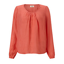 Buy Numph Fussy Tunic Top, Spiced Coral Online at johnlewis.com