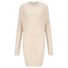 Buy BZR Nidia Oversized Jumper, Natural Online at johnlewis.com