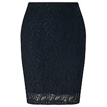 Buy Minimum Sasseline Lace Skirt, Navy Thunder Online at johnlewis.com