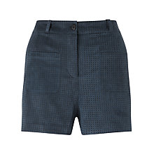 Buy Numph Estragon Shorts, Black Iris Online at johnlewis.com