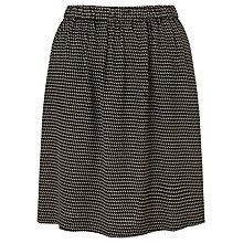 Buy BZR Ambre Printed Crepe Skirt, Black Online at johnlewis.com