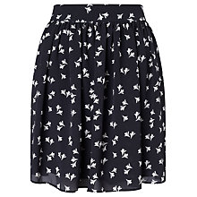 Buy BZR Angelika Print Skirt, Navy/White Online at johnlewis.com