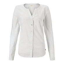 Buy Numph Elvira Crinkle Shirt, Cloud Dancer Online at johnlewis.com