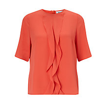 Buy BZR Claramilla Frill Top, Paprika Online at johnlewis.com
