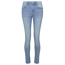 Buy Waven Freya Skinny Ankle Grazer Jeans, Sky Blue Online at johnlewis.com