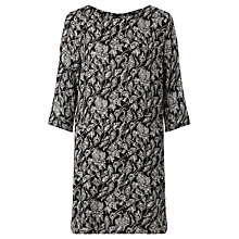 Buy Minimum Flora Dress, Black Online at johnlewis.com