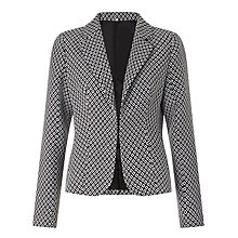Buy Minimum Corina Blazer, Black/White Online at johnlewis.com